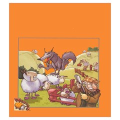 Wooly Bully Draw Bag By Dean   Drawstring Pouch (medium)   Meybbxp5xziq   Www Artscow Com Front