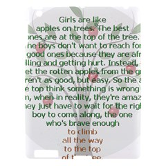 Girls Are Like Apples Apple Ipad 3/4 Hardshell Case by TheWowFactor