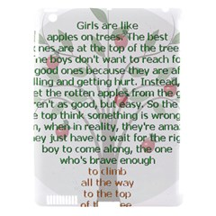 Girls Are Like Apples Apple Ipad 3/4 Hardshell Case (compatible With Smart Cover) by TheWowFactor