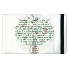 Girls Are Like Apples Apple Ipad 3/4 Flip Case by TheWowFactor