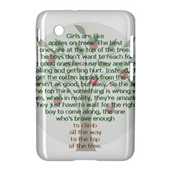 Girls Are Like Apples Samsung Galaxy Tab 2 (7 ) P3100 Hardshell Case  by TheWowFactor