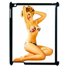 Sexy Bikini Pinup Apple Ipad 2 Case (black) by TheWowFactor