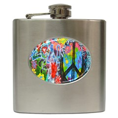The Sixties Hip Flask by TheWowFactor