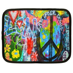 The Sixties Netbook Sleeve (xl) by TheWowFactor