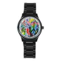The Sixties Sport Metal Watch (black) by TheWowFactor