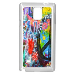 The Sixties Samsung Galaxy Note 4 Case (white) by TheWowFactor