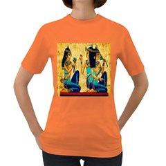 Egyptian Queens Women s T Shirt (colored) by TheWowFactor