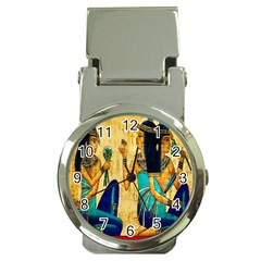 Egyptian Queens Money Clip With Watch by TheWowFactor