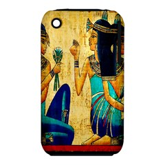 Egyptian Queens Apple Iphone 3g/3gs Hardshell Case (pc+silicone) by TheWowFactor