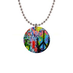 The Sixties Button Necklace by TheWowFactor