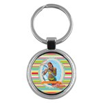 summer - Key Chain (Round)
