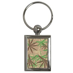 Leaves Key Chain (rectangle) by LalyLauraFLM