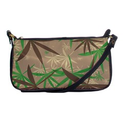 Leaves Shoulder Clutch Bag by LalyLauraFLM