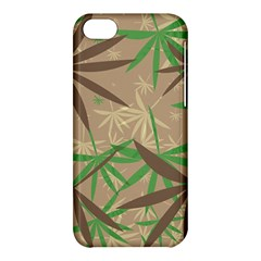 Leaves Apple Iphone 5c Hardshell Case by LalyLauraFLM