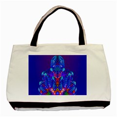 Insect Twin Sided Black Tote Bag by icarusismartdesigns