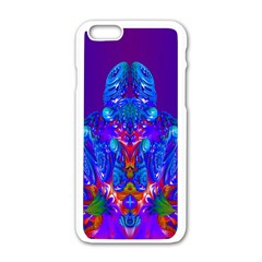 Insect Apple Iphone 6 White Enamel Case by icarusismartdesigns