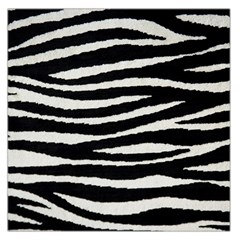 Black White Tiger  Large Satin Scarf (square) by OCDesignss