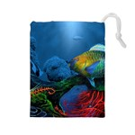Reef Encounter Draw Bag - Drawstring Pouch (Large)