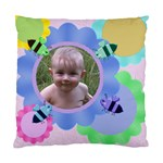 Bees and Flowers Standard Cushion Case - Standard Cushion Case (One Side)