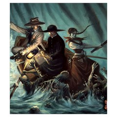 Shadows Of Brimstone Small Storage Bag 3 By Dean   Drawstring Pouch (small)   Tjjauthhw765   Www Artscow Com Front