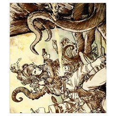 Shadows Of Brimstone Small Storage Bag 5 By Dean   Drawstring Pouch (small)   4jql98nyswi9   Www Artscow Com Front