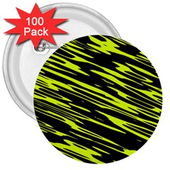 Camouflage 3  Button (100 Pack) by LalyLauraFLM
