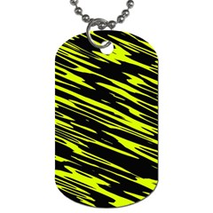 Camouflage Dog Tag (one Side) by LalyLauraFLM