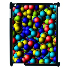 Colorful Balls Apple Ipad 2 Case (black) by LalyLauraFLM