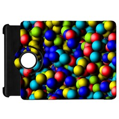 Colorful balls Kindle Fire HD Flip 360 Case by LalyLauraFLM
