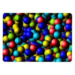 Colorful balls Samsung Galaxy Tab 10.1  P7500 Flip Case by LalyLauraFLM