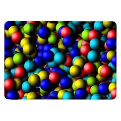 Colorful Balls Samsung Galaxy Tab 8 9  P7300 Flip Case