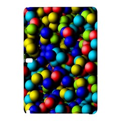 Colorful Balls samsung Galaxy Tab Pro 12 2 Hardshell Case by LalyLauraFLM