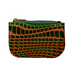Distorted Rectangles Mini Coin Purse by LalyLauraFLM