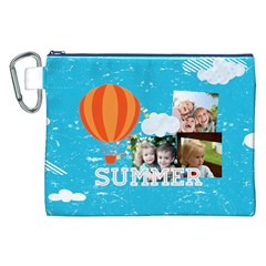 Summer By Summer Time    Canvas Cosmetic Bag (xxl)   Vbzylamsgsaf   Www Artscow Com Front