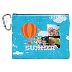 summer - Canvas Cosmetic Bag (XXL)
