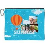 summer - Canvas Cosmetic Bag (XXXL)