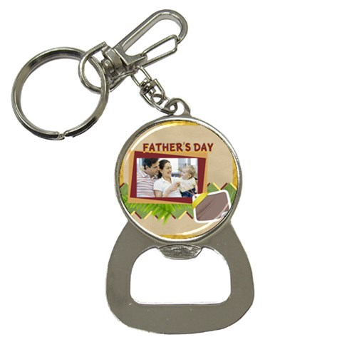 Fathers Day By Dad   Bottle Opener Key Chain   V1ng9pvs0s8s   Www Artscow Com Front