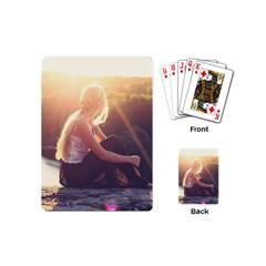 Boho Blonde Playing Cards (mini) by boho