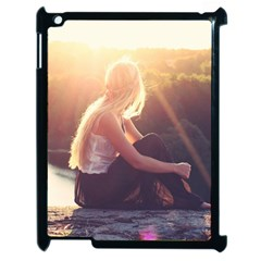 Boho Blonde Apple Ipad 2 Case (black) by boho