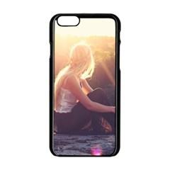 Boho Blonde Apple Iphone 6 Black Enamel Case by boho