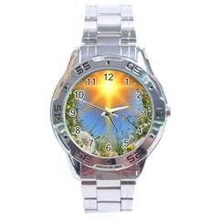Dandelions Stainless Steel Watch by boho