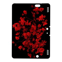Dark Red Flower Kindle Fire Hdx 8 9  Hardshell Case by dflcprints