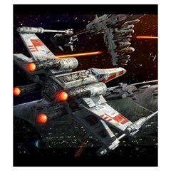 X Wing Rebel By Dean   Drawstring Pouch (medium)   Bdph7sfuqfsp   Www Artscow Com Back