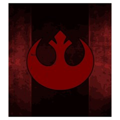 X Wing Rebel Large By Dean   Drawstring Pouch (large)   E2jgmmszzdq0   Www Artscow Com Front