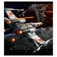 X Wing Rebel Large By Dean   Drawstring Pouch (large)   E2jgmmszzdq0   Www Artscow Com Back