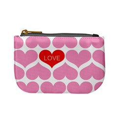 One Love Coin Change Purse by Kathrinlegg
