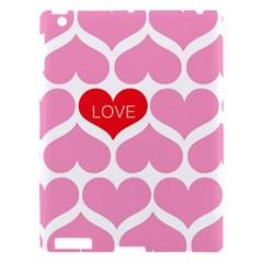 One Love Apple Ipad 3/4 Hardshell Case by Kathrinlegg