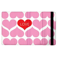 One Love Apple Ipad 2 Flip Case by Kathrinlegg