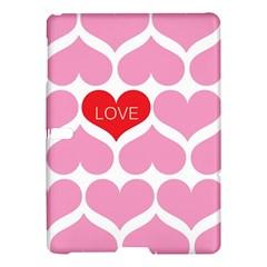 One Love Samsung Galaxy Tab S (10 5 ) Hardshell Case  by Kathrinlegg