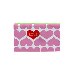 One Love Cosmetic Bag (xs) by Kathrinlegg